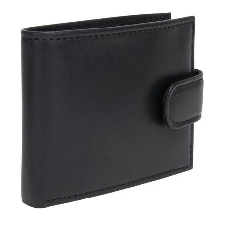 R70 Men's Tab Genuine Slimfold Black Wallet - image 2 of 6