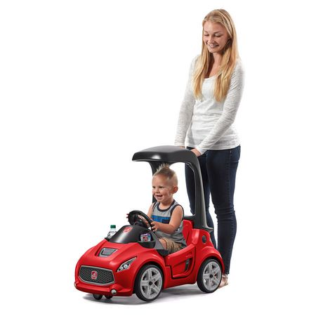 voiture pour enfants turbo coupe foot to floor de step2 en rouge. Black Bedroom Furniture Sets. Home Design Ideas