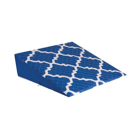Oreiller compensé de lit Premium de HealthSmart en mousse avec revêtement élégant anti-éclaboussures - image 1 de 3