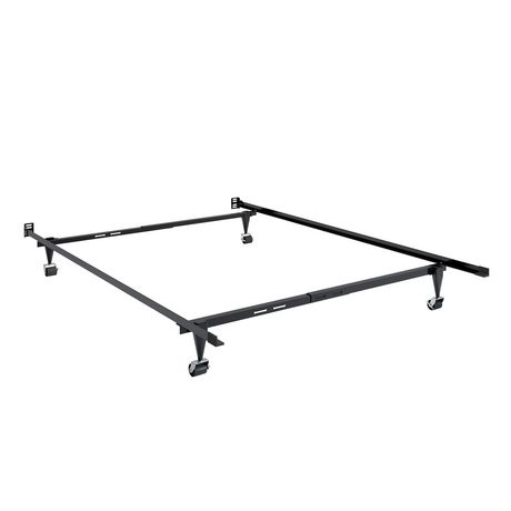 CorLiving Adjustable Metal Bed Frame | Walmart Canada
