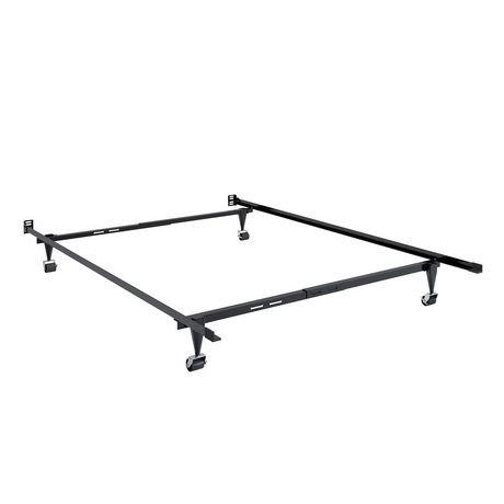 Corliving Adjustable Metal Bed Frame Walmart Canada