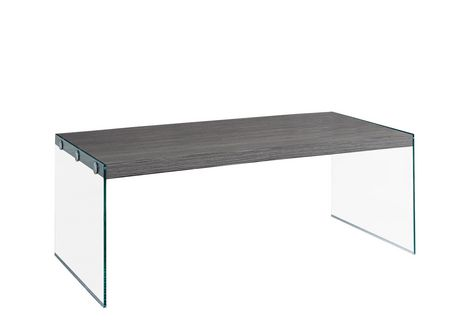 Monarch Specialties Grey Coffee Table Walmartca