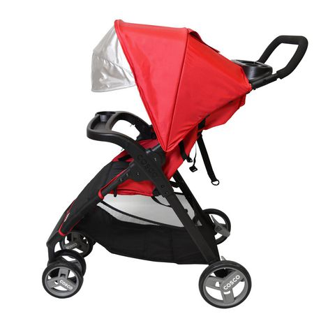 Cosco Simple Fold Plus Travel System - Ruby Red - image 8 of 9