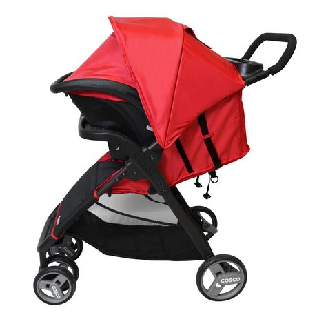 Cosco Simple Fold Plus Travel System - Ruby Red - image 7 of 9