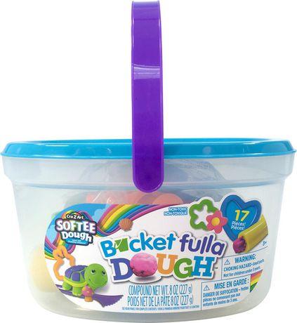 SofteeDough 17pc Bucket Fulla Dough