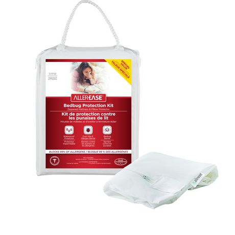 Allerease Bed Bug Barrier Mattress And Pillow Protector