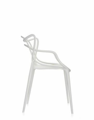 Plata Import Keeper Chair in White Set of 4