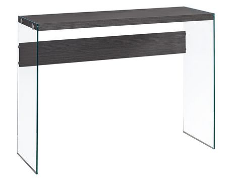 Table console monarch specialties en gris for Table exterieur walmart