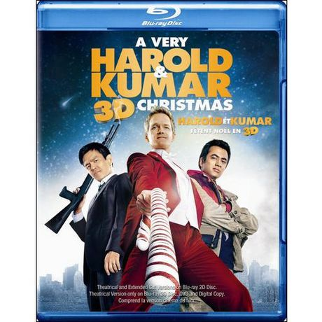 A Very Harold & Kumar Christmas 3D (Extended Cut) (Blu-ray 3D + ...
