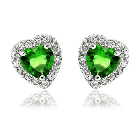 proddetail emerald heart shaped