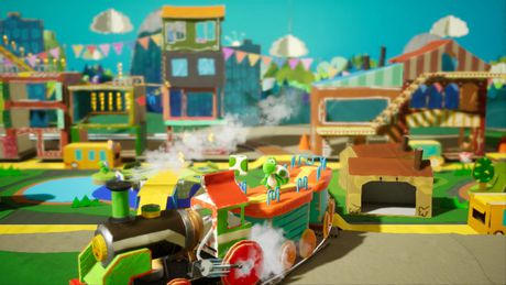 Yoshi's Crafted World (Nintendo Switch) - image 2 de 8