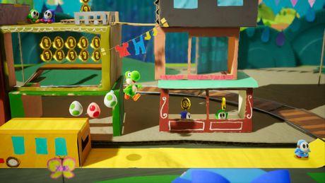 Yoshi's Crafted World (Nintendo Switch) - image 4 de 8