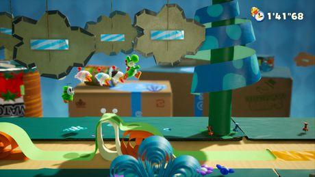 Yoshi's Crafted World (Nintendo Switch) - image 5 de 8