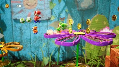 Yoshi's Crafted World (Nintendo Switch) - image 6 de 8