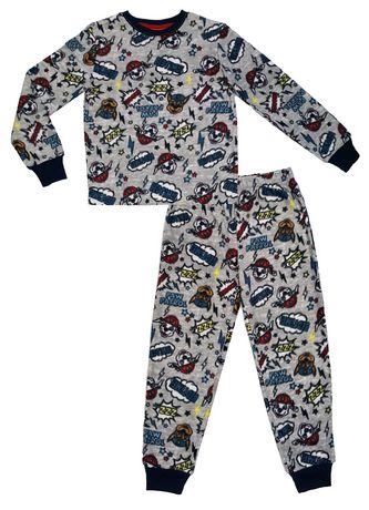 f052d612b Paw Patrol Boys  Micro-polar Long Sleeve Pajama Set All-Over-Print ...