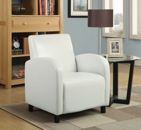 Monarch Specialties Leather Look Accent Chair Walmart Canada