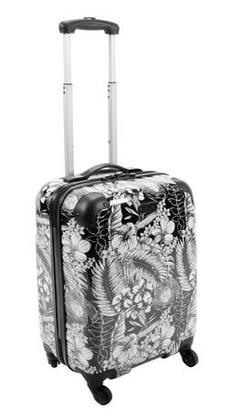 style to go valise ridige sur roulettes 19 walmart canada. Black Bedroom Furniture Sets. Home Design Ideas