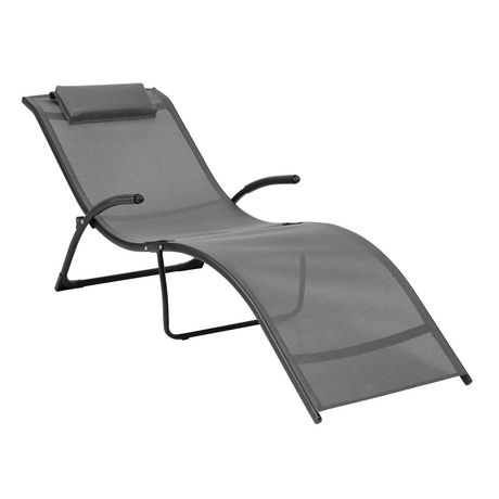 Chaise Longue Pliable Inclinable Riverside Pjr 429 R De Corliving En
