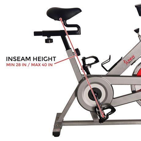 Vélo de cyclisme d'intérieur SF-B1001S de Sunny Health & Fitness - image 5 de 8