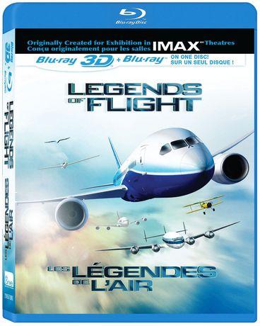 Film Legends of Flight (IMAX) (3D) (Bluray)(Blu-ray) (Bilingue) - image 1 de 1