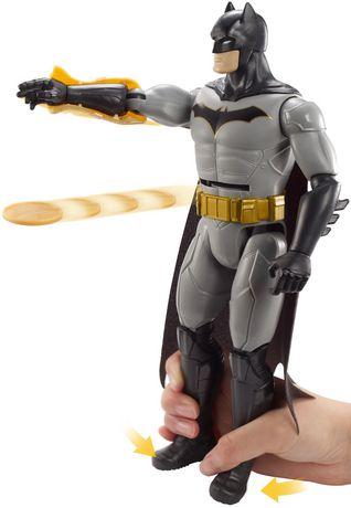 DC Comics Batman missions Disc Strike Batman Deluxe FIGURE NEW