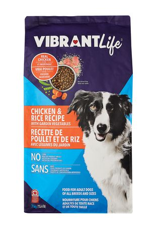 Vibrant Life Chicken & Rice Recipe with Garden Vegetables ...
