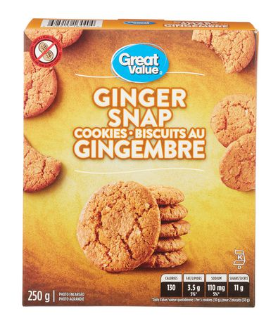 Walmart Oil Change Price >> Great Value Ginger Snap Cookies | Walmart Canada