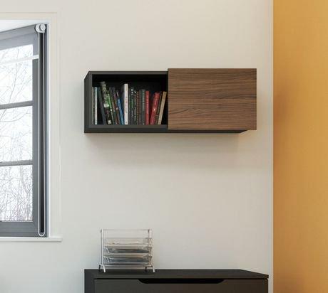 tablette murale avec porte coulissante next de nexera walmart canada. Black Bedroom Furniture Sets. Home Design Ideas
