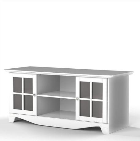 Nexera Pinnacle 56 Inch White Tv Stand Walmart Canada
