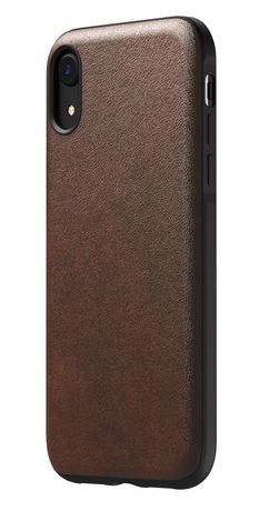 huge discount 67e4b 15a7a Nomad Rugged Leather Case for iPhone XR