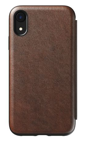 best website 64f3b c1f63 Nomad Rugged Leather Folio Case for iPhone XR