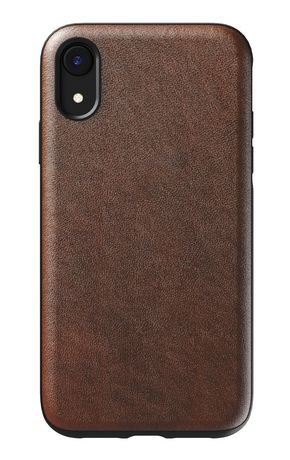 huge discount 344ba f9d3d Nomad Rugged Leather Case for iPhone XR