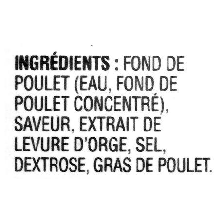 Fond de poulet doux stock first de campbell 39 s - Fond de volaille maison ...