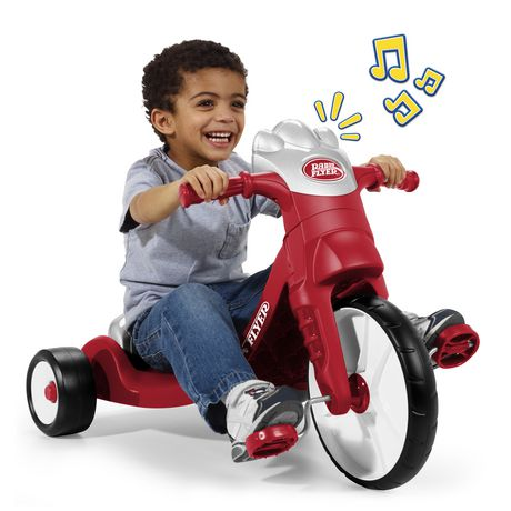 Radio Flyer My First Big Flyer with Lights & Sounds  Plastic Trike - image 2 of 6