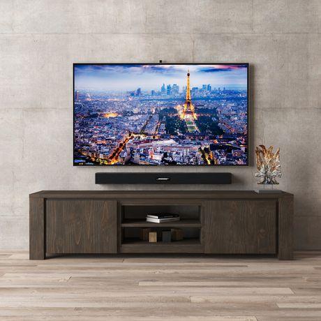 Urban Woodcraft 72'' Tuscany Espresso Pine TV Stand - image 1 of 4