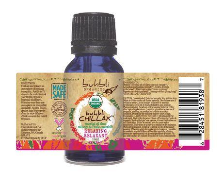 Buhbli Organics Chillax Essential Oil Blend - image 2 of 2