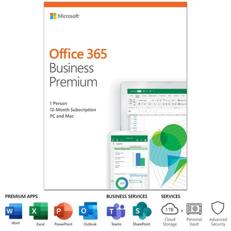Microsoft Office 365 Business Premium English Walmart Canada