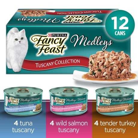 Fancy Feast Wet Cat Food, Elegant Medleys Tuscany Variety Pack - image 1 of 3