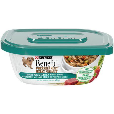 Beneful Prepared Meals Wet Dog Food, Savoury Rice & Lamb Stew - image 1 of 5