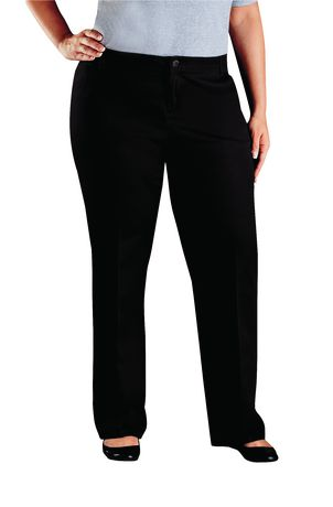 0c0c177248 Genuine Dickies Women s Plus Size Relaxed Fit Straight Leg Twill Pant -  image 1 of 2 ...