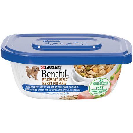 Beneful Prepared Meals Wet Dog Food, Roasted Turkey Medley - image 1 of 5
