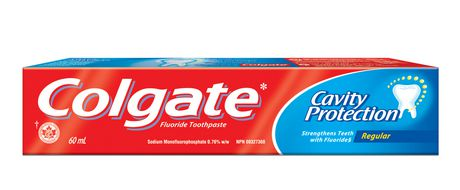 Colgate Cavity Protection Fluoride Toothpaste Regular