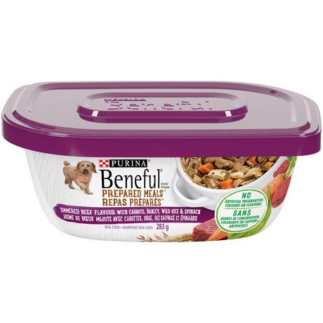 Beneful Prepared Meals Wet Dog Food, Simmered Beef Flavour - image 1 of 5