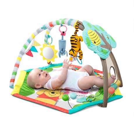 Bright Starts Disney Baby's Winnie The Pooh Happy as Can Be Activity Gym - image 2 of 9
