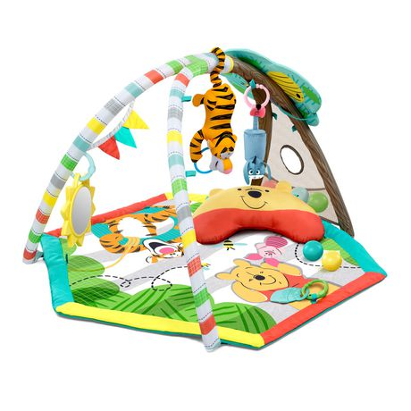 Bright Starts Disney Baby's Winnie The Pooh Happy as Can Be Activity Gym - image 3 of 9