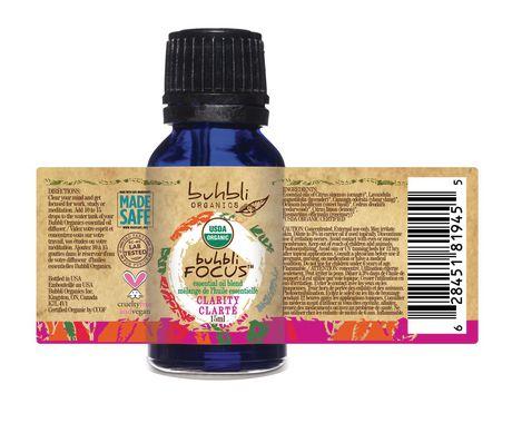 Buhbli Organics Focus Essential Oil Blend - image 2 of 2