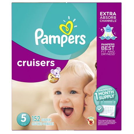 Couches pampers cruisers provision de couches pour un - Couche pampers pour adulte ...
