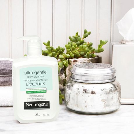 Neutrogena Ultra Gentle Daily Creamy Facial Cleanser, Fragrance Free - image 2 of 6