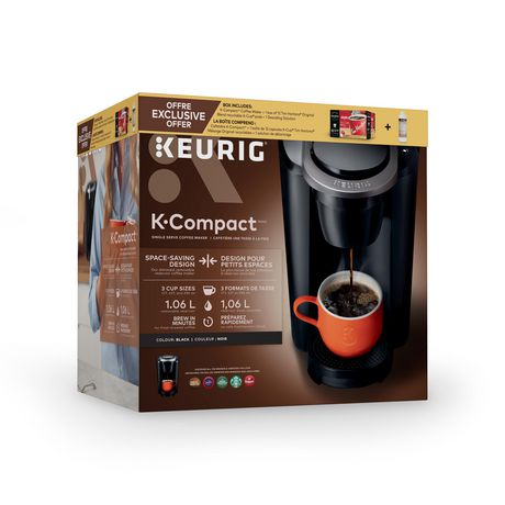 Keurig® ensemble système d'infusion une tasse à la fois K-Compact - image 2 de 2