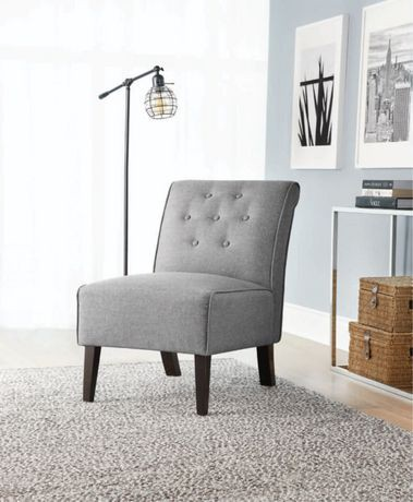 Hometrends Rolled Slipper Chair Walmart Canada